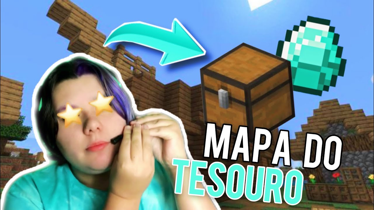 INDO ATRÁS DO TESOURO (Minecraft #08) | Walter Moraes