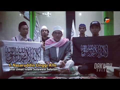 Heboh Ajakan Aksi Bela Bendera Tauhid di Jakarta Ust. Nasaruddin Linggi Allo