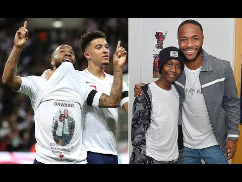 Sterling reveals touching tribute to 13-year-old Damary Dawkins