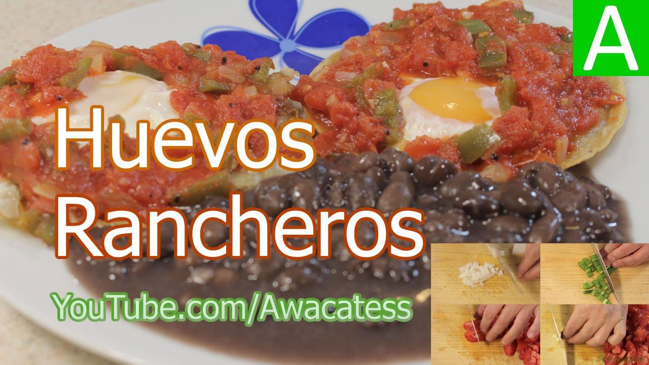 Huevos Rancheros Recetas De Cocina De Comidas Mexicanas Faciles Y Economicas