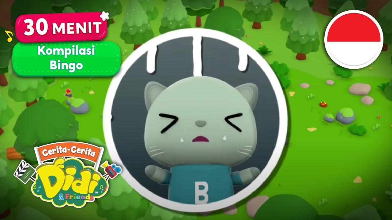 Kompilasi 30 Menit Bingo | Lagu Anak-Anak Indonesia | Didi & Friends Indonesia
