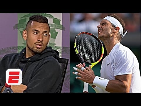 Nick Kyrgios admits he wanted to hit Rafael Nadal 'square in the chest' | 2019 Wimbledon Presser