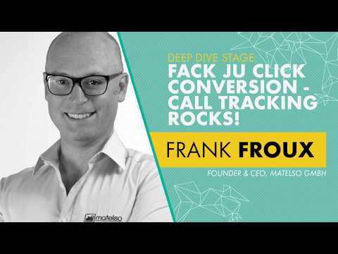 Frank Froux - Founder & CEO, matelso GmbH - Deep Dive Stage | OMR18