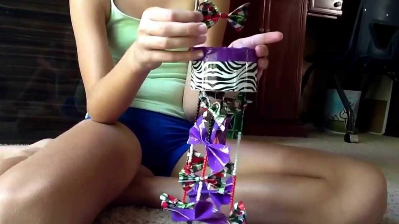 Duck Tape Chandelier
