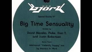 Björk - Big Time Sensuality [The Fluke Minimix]