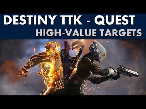 Destiny TTK Guide - High-Value Targets Quest (Remnants of Darkness)