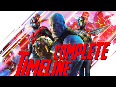 Marvel Cinematic Universe Chronological Timeline (v5.0)