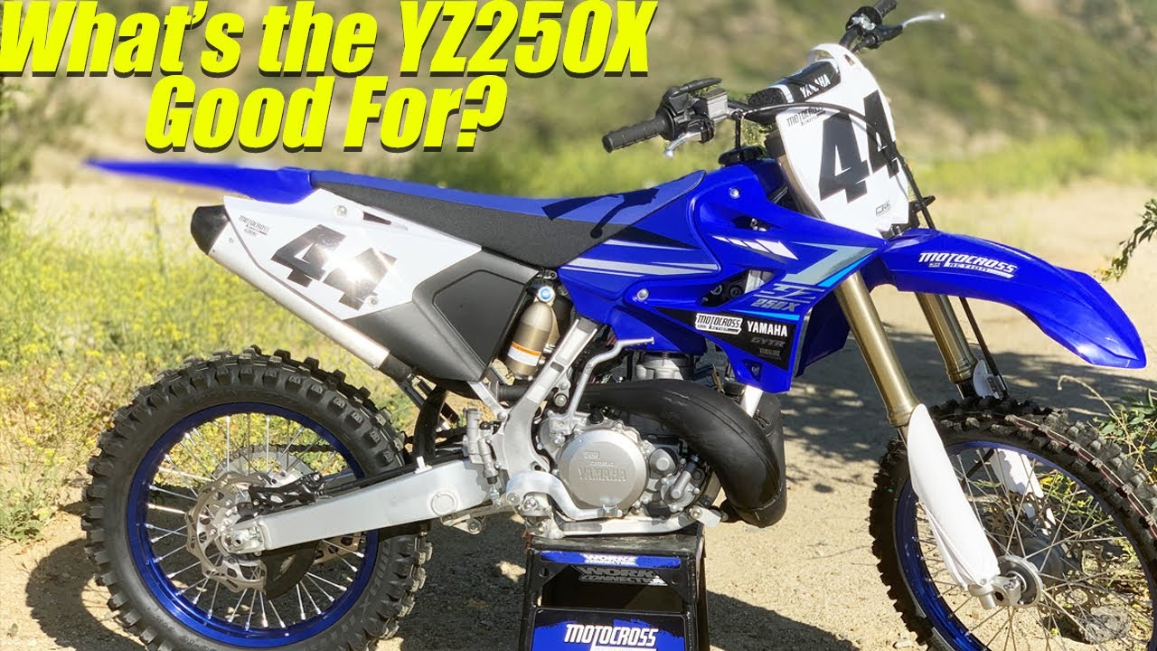 Yamaha YZ250X Two Stroke! What's It Good For? - Motocross Action Magazine