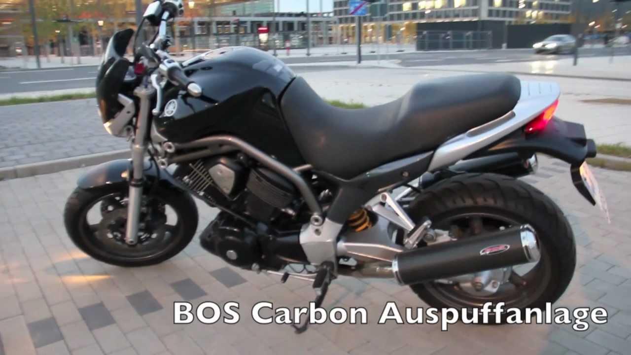 Yamaha Bulldog BT1100 Mit BOS Auspuffanlage