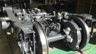 電車の台車ができるまで 総合車両製作所 新津事業所 台車組立工場 2018年10月6日