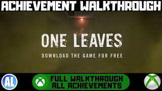 One Leaves (Xbox One) Achievement Walkthrough - FREE 1K