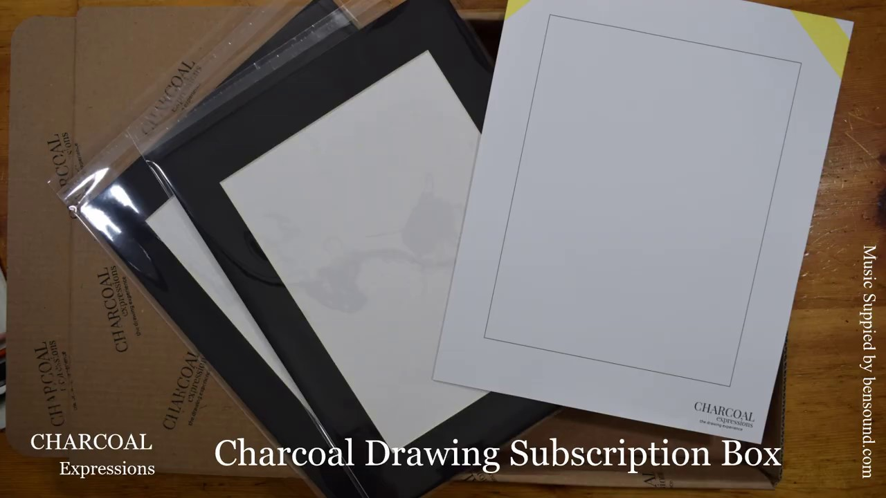 Charcoal Expressions - Join the Drawing Experience