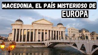 MACEDONIA, el país MÁS BARATO DE EUROPA | Skopje, Macedonia