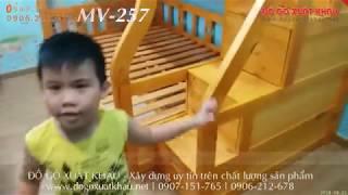? Giường tầng cho con trai giá rẻ đẹp gỗ tự nhiên tại Quận 12 TPHCM - giuong tang cho con trai dep