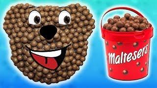 Желейно - Шоколадный Медведь из Шоколадных Шариков Maltesers