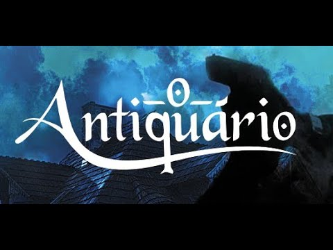 O ANTIQUÁRIO  - BOOK TRAILER