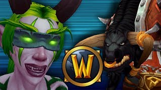 Demon Hunter Makes Warrior God BLEED! (1v1 Duels) - PvP WoW: Battle For Azeroth 8.1