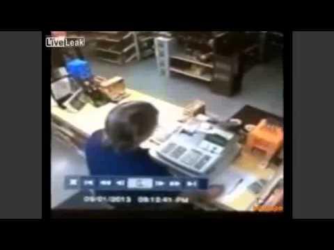 Download [CCTV] Armed Robbery Foiled As War Vet Draws Own Gun