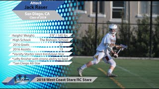 Download Video #9 Jack Raser, Attack - San Diego, CA - Class of 2018 MP3 3GP MP4
