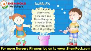 Nursery Rhymes Bubbles Songs with lyrics