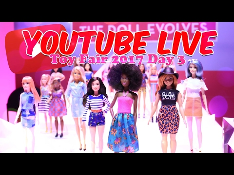 Toy Fair 2017: Day 3 LIVE at Mattel with Froggy and Little Froggy
