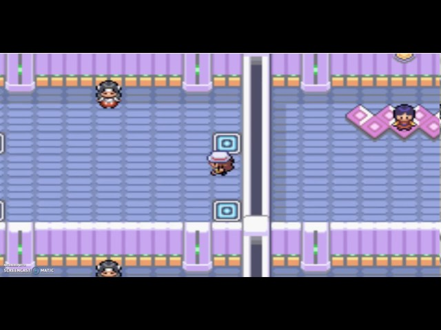 Pokemon Fire Red: How to Beat Sabrinas Gym Puzzle in 30 Seconds