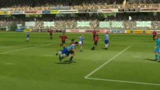 Fifa 2005 - How to dribble goalie