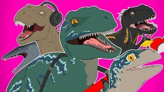 ♪ Jurassic World Fallen Kingdom The Musical Remix   Animated Song