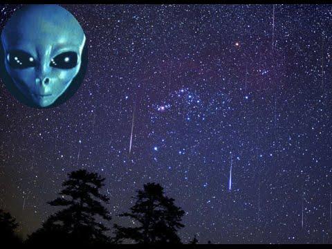 Падающие звезды в небе над Вологдой. Встречи с НЛО