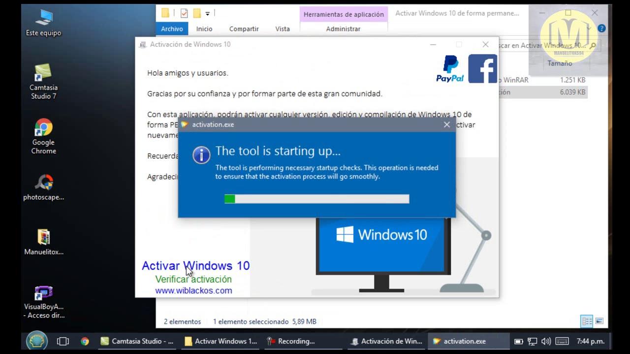 activacion de windows 10