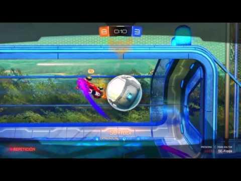 Rocket league Recopilación de goles/Reacción increíble.