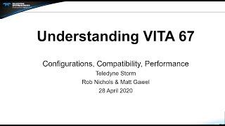 Teledyne Storm Understanding VITA 67