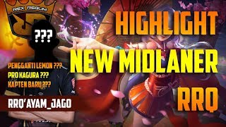 HIGHLIGHT RRQ AYAM JAGO, NEW MIDLANER RRQ KAGURANYA MIRIP-MIRIP SAMA LEMON, LEMON SAMPE GANTI ROLE ? thumbnail