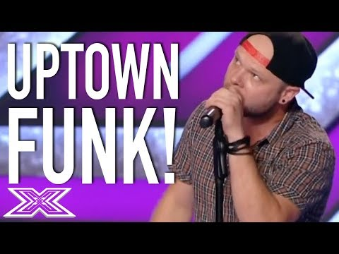 Uptown Funk Audition Doesn't Cut It For The Judges!   X Factor Global