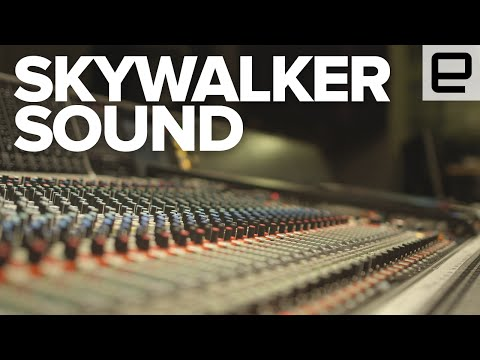 Behind the Mixing Board at Skywalker Sound