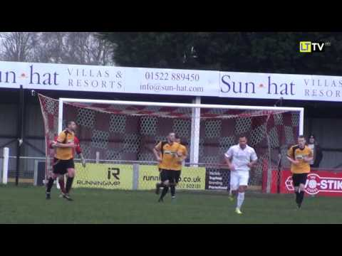 Lincoln United FC v Leek Town FC - Extended Highlights