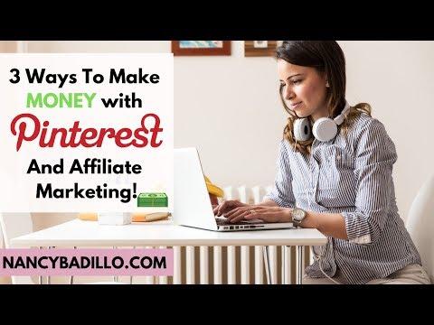 Pinterest Affiliate Marketing | How To Make Money On Pinterest | Pinterest Strategy thumbnail