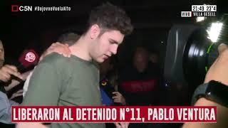 Así fue la liberación de Pablo Ventura tras permanecer detenido