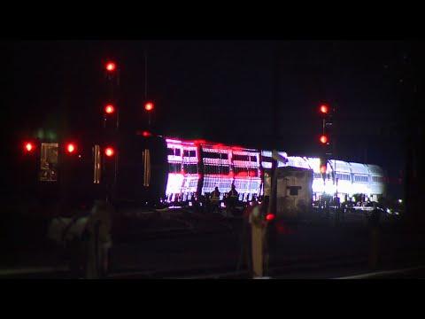 Amtrak Passenger Describes Savannah Derailment