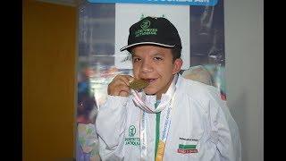 Granada tiene al campeón nacional de para atletismo en 1.500 metros