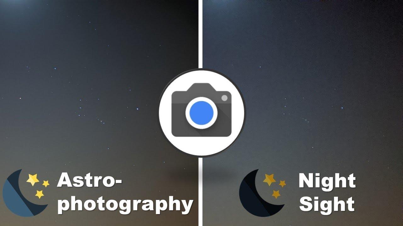 Resultado de imagem para Google camera 7.3 astrophotography