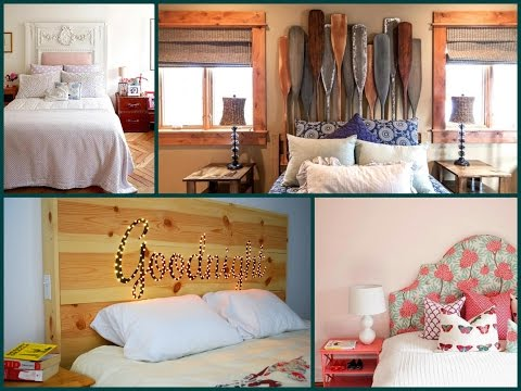 Diy Bed Headboard Ideas – Creative Ideas For Home Decoration Furniture Makeover Ideas