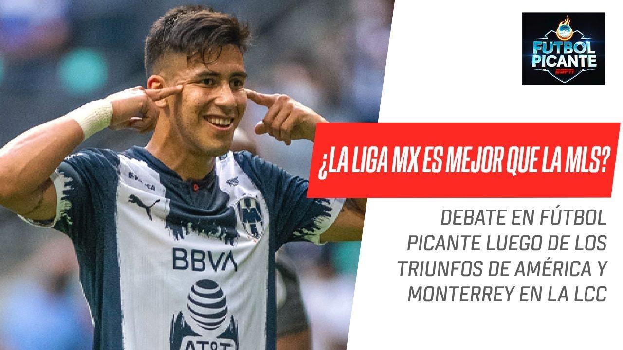 ¡#Monterrey y #América a semifinales de LCC! ¿Es clara la superioridad de la Liga MX sobre la #MLS?