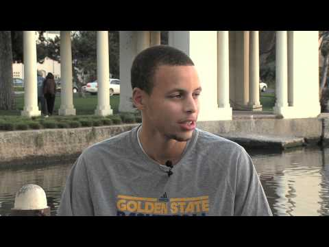 Warriors Weekly: Stephen Curry Interview Pt. 2 - 10/26/10