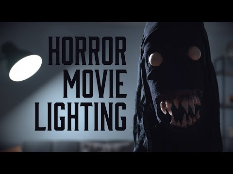 HORROR MOVIE LIGHTING With ONLY 3 Lights (Low Budget)