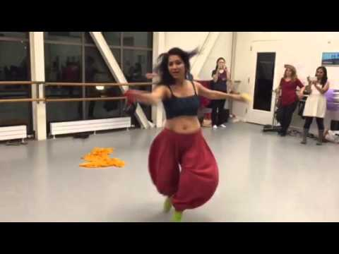 Deewani Mastani dance lesson, Bollywoodfire, Jan 2016