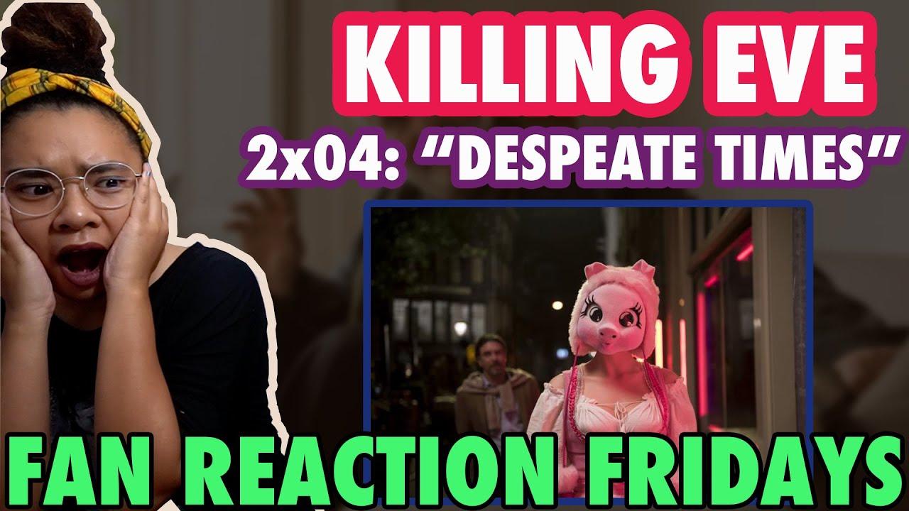 "Download KILLING EVE Season 2 Episode 4: ""Desperate Times"" Reaction & Review   Fan Reaction Fridays"