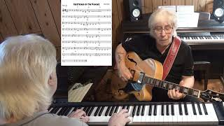 Heartaches by the Number - Country cowboy guitar & piano cover ( Harlen Howard )