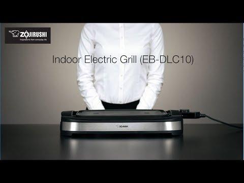 Zojirushi EB-DLC10 Indoor Electric Grill Zojirushi Kitchen Electrics