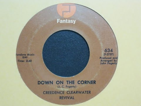 Down on the Corner - Creedence Clearwater Revival - Fantasy Records 634